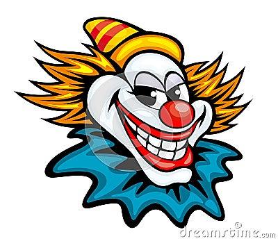 Fun circus clown
