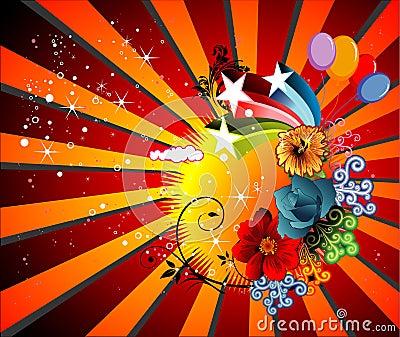 Fun color  illustration
