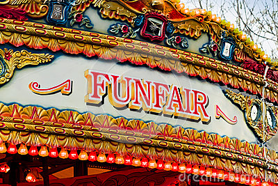 Credit Cards For Fair Credit >> Fun Fair Sign Stock Image - Image: 35530541