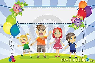 Fun family banner
