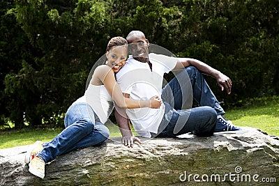 Fun happy smiling couple in love