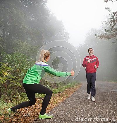 Fun jogging