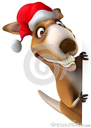 Free Fun Kangaroo Royalty Free Stock Photos - 27085568