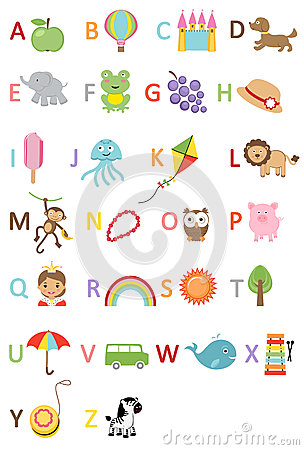 Fun Kids alphabet