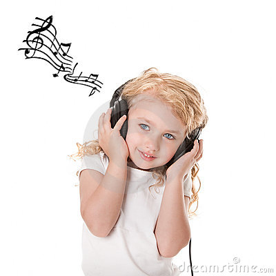 Free Fun Listening To Music Stock Image - 19815491