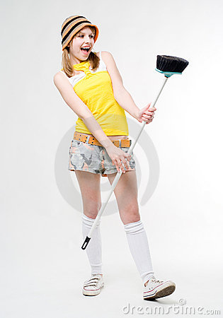 Fun maid