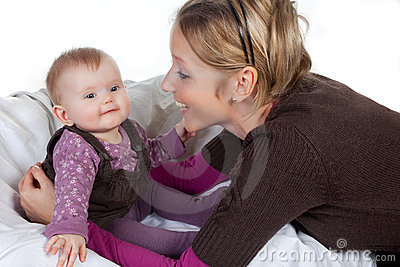 Fun with mommy