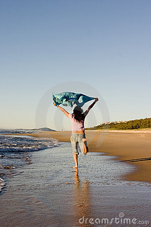 Free Fun On The Beach Royalty Free Stock Images - 175229