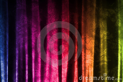 Fun Pattern Abstract Fabric Background