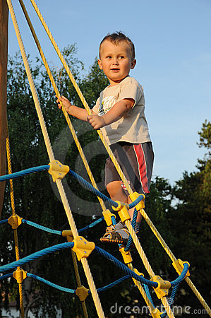 Fun on playground