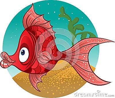 Fun red fish