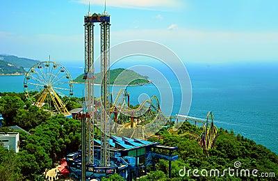 Fun rides of ocean park hong kong