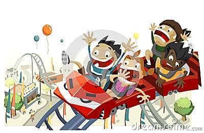 Fun with Roller Coaster