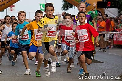 Fun Run Editorial Stock Image