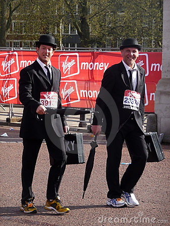 Fun Runners At London Marathon 25th April 2010 Editorial Stock Photo