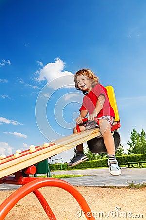 Fun on seesaw