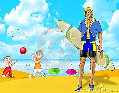 Fun summer  vacation