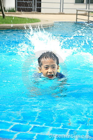 Fun In Swimming Pool