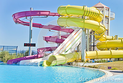 Fun Time in Aqua Park in Izmir