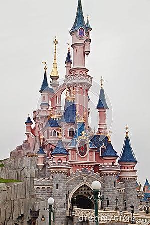 Fun Time   in Disneyland,Paris Editorial Stock Photo
