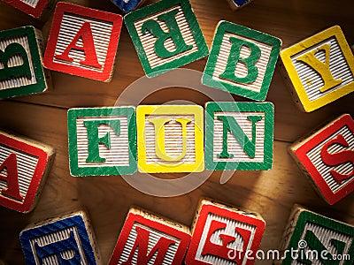 Fun toy blocks