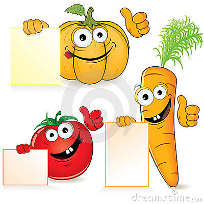 Free Fun Vegetables Royalty Free Stock Image - 15495196