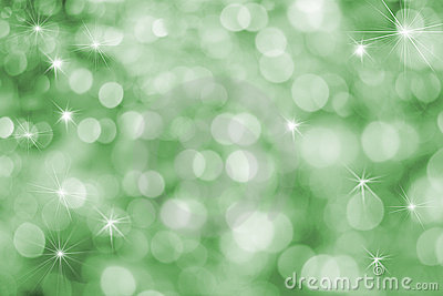 Fun Vibrant Green Holiday Background