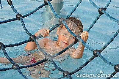 Fun in water park
