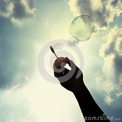 Free Fun With Bubble Stock Photography - 27068842