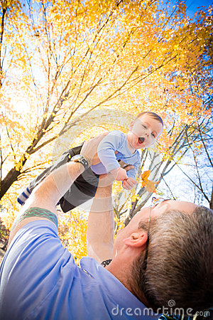 Free Fun With Dad Royalty Free Stock Photos - 27732428