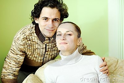 Fun young couple.