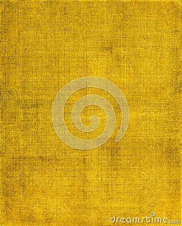 Fundo amarelo de pano