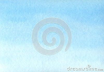 Fundo azul da aguarela