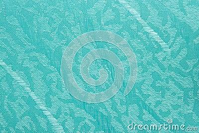 fundo azul da textura da cortina das cortinas da tela