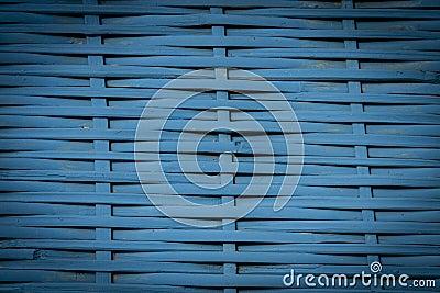 Fundo azul do weave