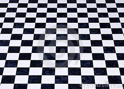 Fundo Checkered de mármore