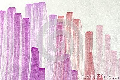 Fundo cor-de-rosa do doodle