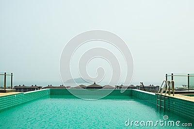 Fundo da piscina