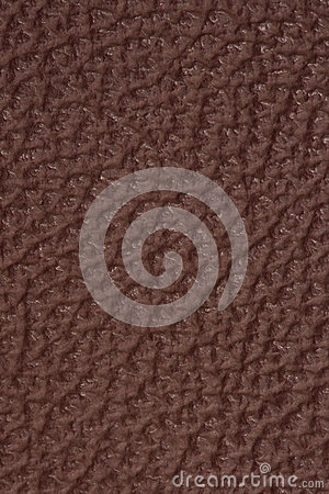 Fundo de couro marrom Textured