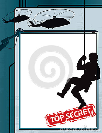 Fundo do espião do segredo máximo