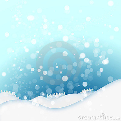 Fundo do inverno da neve
