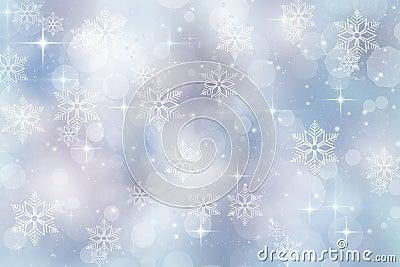 Fundo do inverno para a estação do Natal e de feriado