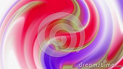 Fundo hologr?fico abstrato da folha, superf?cie ondulada, ondinhas, textura vibrante na moda, mat?ria t?xtil da forma, cores de n vídeos de arquivo