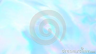 Fundo obscuro abstrato do movimento lento, filme hologr?fico iridescente filme