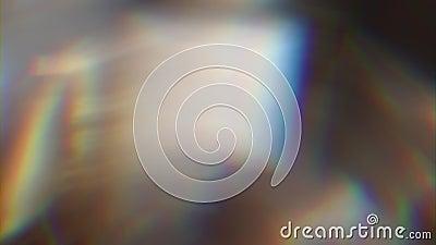 Fundo original abstrato holográfico, bokeh de brilho, transições video filme