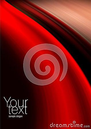 Fundo vermelho, preto e bege abstrato