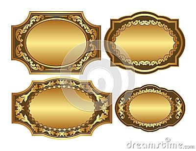 Fundos dourados