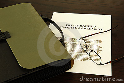 Funeral agreement