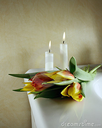 Free Funeral Arrangement Royalty Free Stock Photo - 4181235