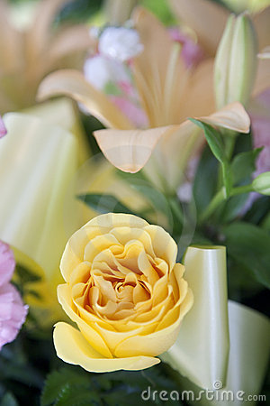 Free Funeral Boquet Stock Photo - 18148820